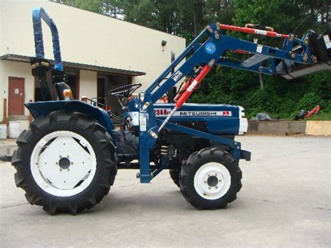 mitsubishi d2350 review by joseph kirk tractorbynet