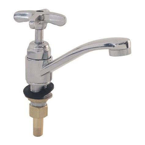 Krown Faucets by Krowne 16 152l Deck Mount Faucet W 4 In Swivel Spout