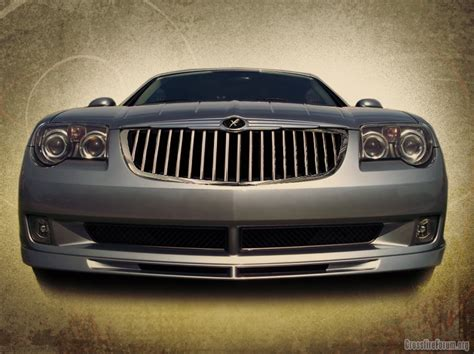 Chrysler Crossfire Grill by Mercedes Grill Crossfireforum The Chrysler Crossfire