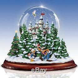 mark roberts musical creche globe walt disney snow globe musical lighted sculpture new