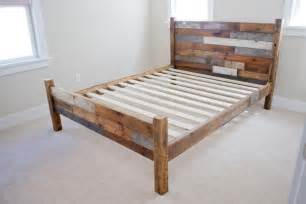 Diy Barn Board Headboard Sweet Dreams 10 Beautiful Bed Frames Brit Co