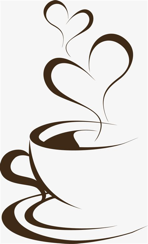 coffee clipart painted brown coffee cup brown coffee cup png