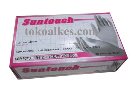 Sarung Tangan Non Powder sarung tangan powder free non steril suntouch
