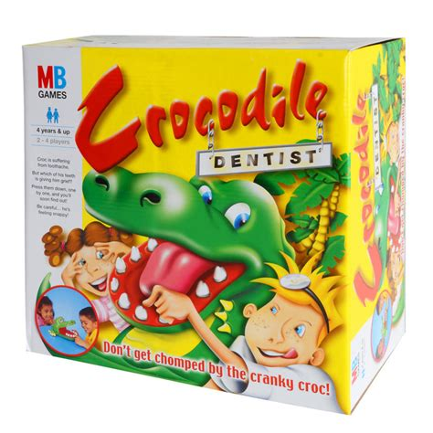 Crocodile Dentist mb hasbro multiplayer board crocodile dentist ages 4