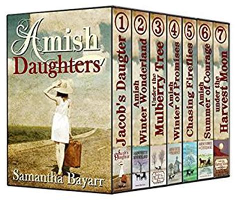 three daughters of books amish daughters amish christian 7 book