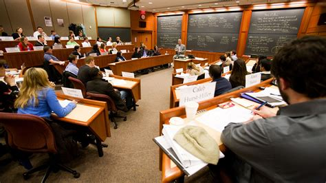 Mba Mpp Harvard Linkedin by Bricklin Classroom About Harvard Business School