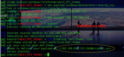 hacker theme kali linux hack windows xp pc theme arbitrary code execution with