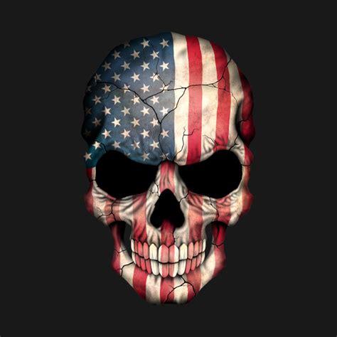 american flag skull american pride t shirt teepublic