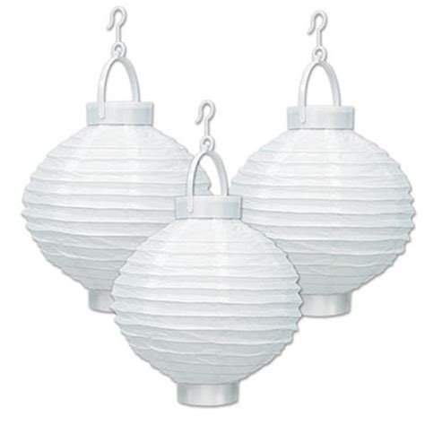 Light Up Paper Lanterns by Light Up Paper Lanterns White Partycheap