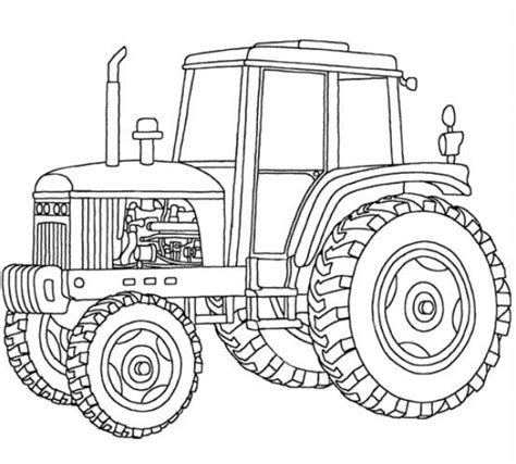 tractor template to print tractor pages to print coloring pages