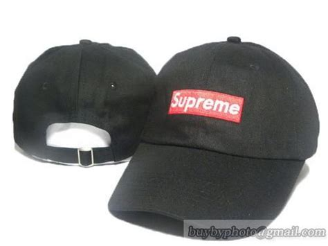 supreme c cap supreme baseball caps adjustable hat curved cap black only