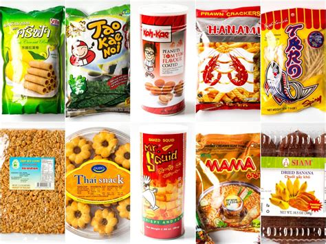 introduction   spicy fishy world  thai snacks