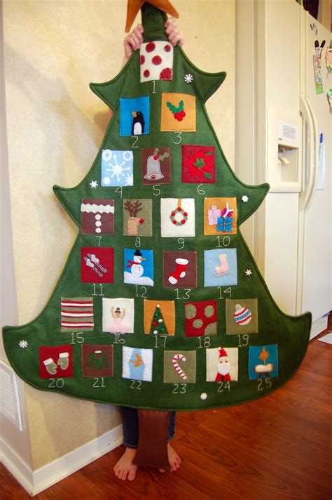 pottery barn tree advent calendar family after pottery barn inspired