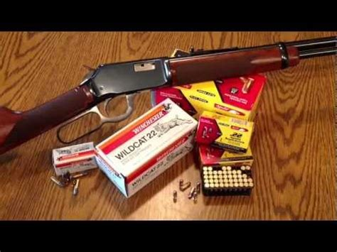 winchester 9422 lever action rifle youtube