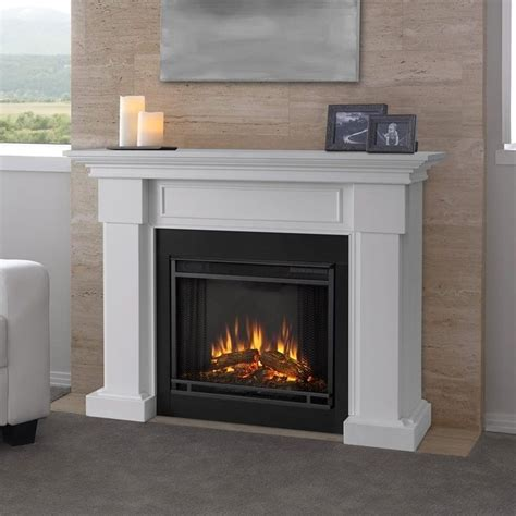 Real Flame Hillcrest Electric Fireplace White 7910e W Real Fireplace