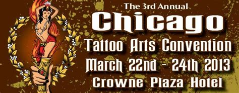 arts convention chicago the and tattoos of edwin marin