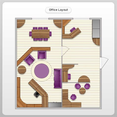 office layout template office layout software create great looking office plan