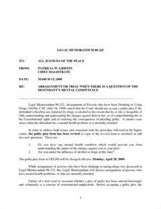 3 legal memorandum samplereport template document report