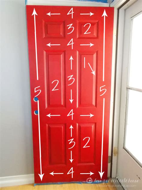 How To Paint Exterior Doors How To Paint Your Front Door Pomegranate House