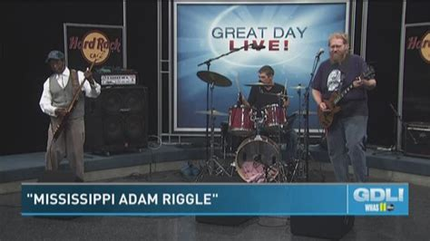 the mississippi adam riggle band will make you wiggle whas11