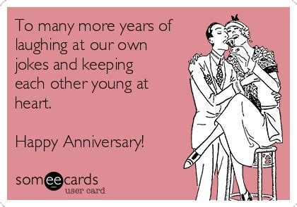 Wedding Anniversary Wishes One Liners by Image Gallery Anniversary Jokes