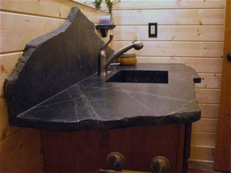 Soapstone Vanity Top - saratoga soapstone vanity top eclectic bathroom
