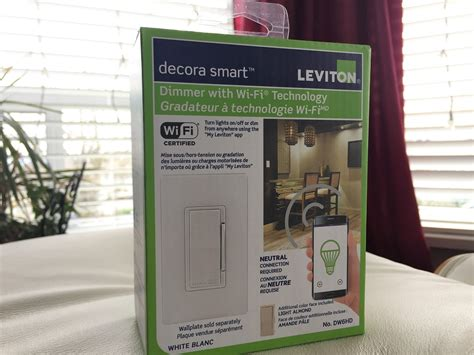 wifi light switch dimmer review of the leviton wi fi dimmer switch best buy