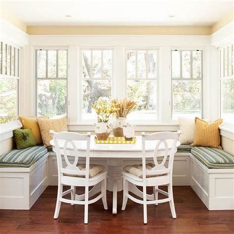 kitchen nook table and chairs how to arrange an adorable breakfast nook in the kitchen