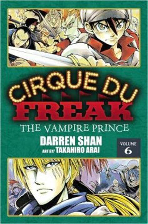 darren shan volume 12 cirque du freak vol 6 the prince by