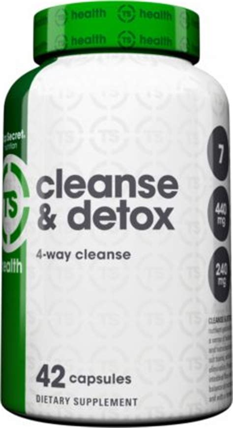 Detox Pills Forum by Top Secret Nutrition 4 Way Cleanse Detox At