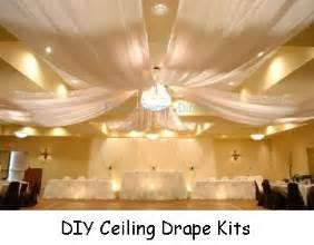 wedding ceiling decor draping kits