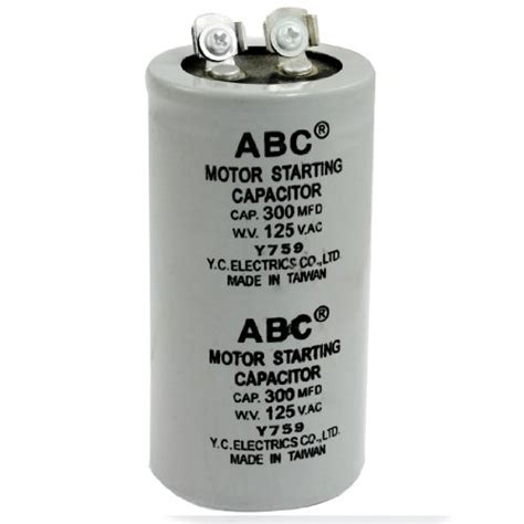 motor starting capacitor 150 mfd 125vac pro 12725 capacitor 50mfd 370v electronics circuit components passive circuit