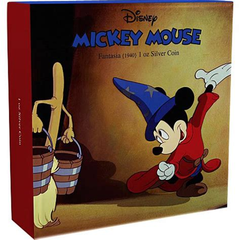 the silver box the silver box series books 1 oz niue proof silver mickey mouse fantasia series coins