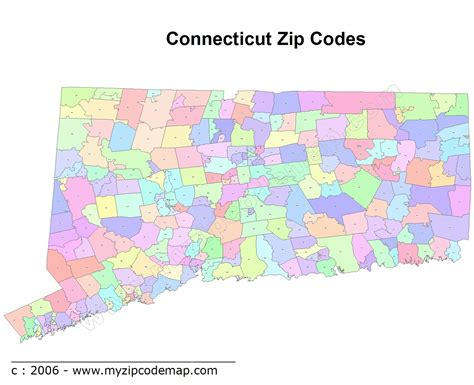 zip code map ct connecticut zip code maps free connecticut zip code maps