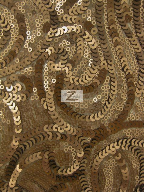 curly sequin mesh fabric sequins fabric
