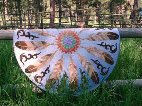 sun dance feather round quilt pattern product details keepsake sun dance eagle feather pdf applique quilt pattern from