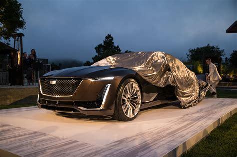mercedes cadillac vision mercedes maybach 6 and cadillac escala concept cars