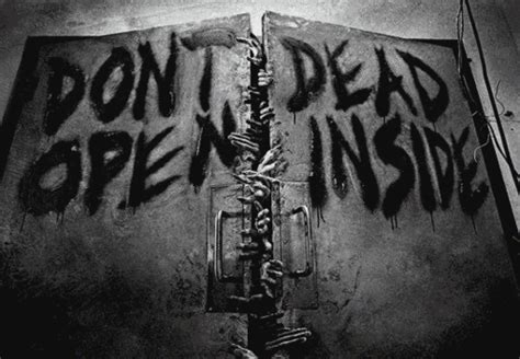 Kaos The Walking Dead Dont Open Dead Inside Putih 1 entertainment fashion and news
