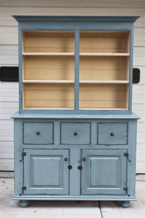 outstanding kitchen hutch for sale vintage blue cabinets