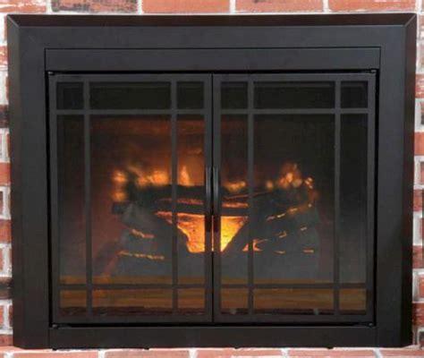 Fireplace Doors Menards by Easton Small Prairie Cabinet Style Fireplace Door At Menards 174