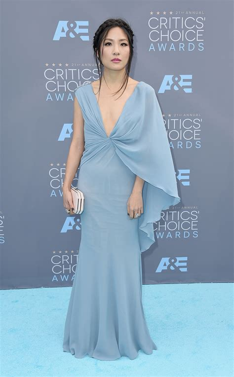 Red Carpet: Constance Wu at 21st Annual Critics' Choice