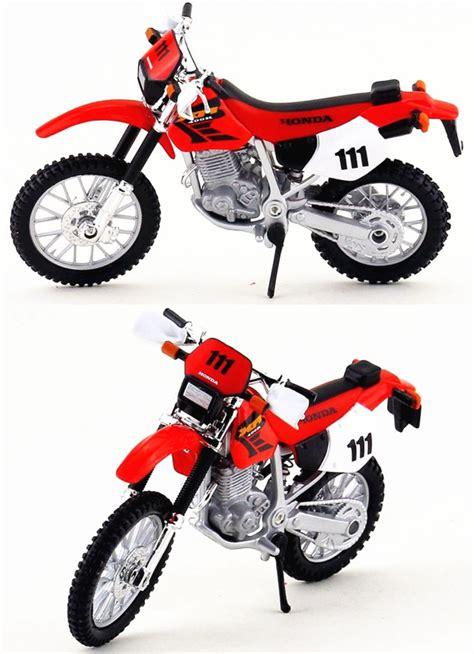 diecast motocross bikes honda xr 400r 1 18 diecast toy model motocross bike