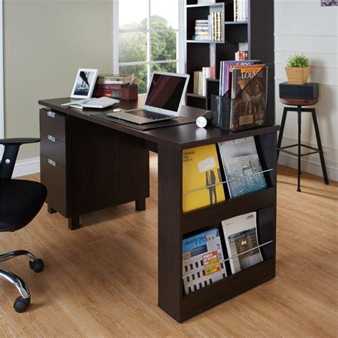 Espresso Office Desk Furniture Of America Nickolas Modern Office Desk In Espresso Ynj 1459c5
