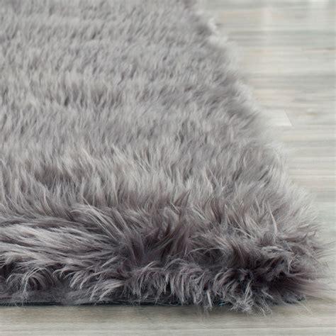 faux sheepskin rugs rug fss235d faux sheep skin area rugs by safavieh