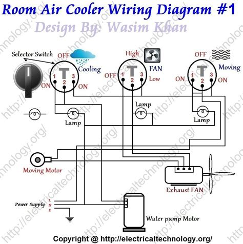 Room Air Cooler Wiring Diagram 1 Motores Pinterest