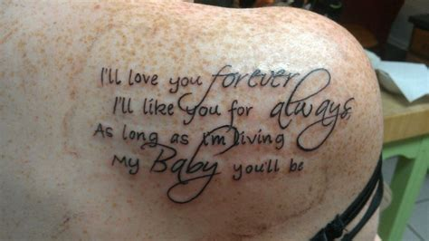 tattoo quotes for new baby baby boys quotes about tattoos quotesgram