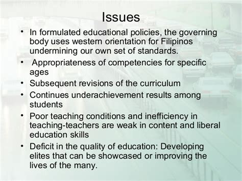 thesis about education in the philippines philippine education presentation