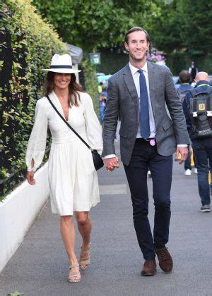 pippa middleton with her husband at wimbledon in london pippa middleton with her husband at wimbledon in london