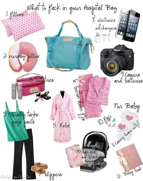 packing for the hospital c section what to pack in your hospital bag baby loves pinterest