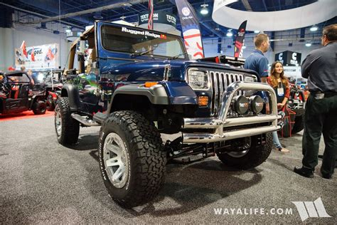 2017 Sema Rugged Ridge Blue Jeep Yj Wrangler